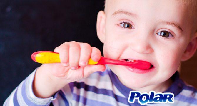 Cuida de los dientes de tu bebé | Polar Ecuador